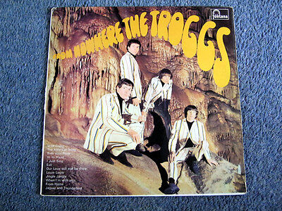 The Troggs From Nowhere Original 1966 Uk Mono Debut Lp