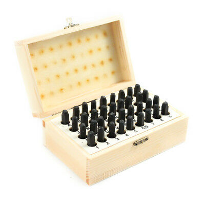 ABC Letters and Numbers 5mm Jewelry Marking Stamp Tool Set Complete 36 Piece Kit