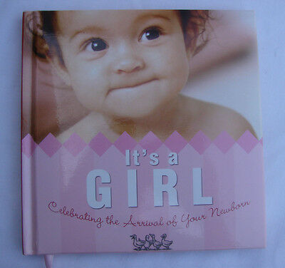 IT'S A GIRL New INSPIRATIONAL GIFT ALBUM Celebrating Arrival of Newborn $10 NWT