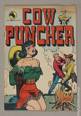 Cow Puncher (1947) #2 GD+ 2.5