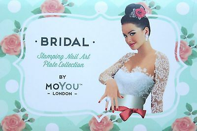 MoYou London BRIDAL COLLECTION Schablonen Stamping Nail Art