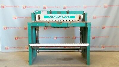 "Tennsmith 52 52"" 16 Gauge Sheet Metal Foot Shear Hand Brake Sheet Metal Bender"