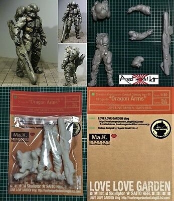 "MASCHINEN KRIEGER 1/20 - Ma.K. 026 LOVE LOVE GARDEN C4 type-80 ""DRAGON ARMS"""