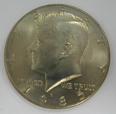1985-D John F Kennedy Clad Half Dollar Choice BU Condition From Mint Set  DUTCH