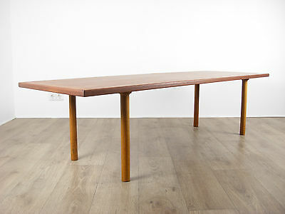 Hans J. Wegner Coffee Table Teak Tisch AT12 Andreas Tuck Danish Mid Century 50er