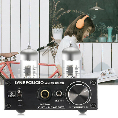 6J9 Vacuum Powerful Tube Stereo Integrated Amplifier AUX DVD RCA Audio HIFI AMP
