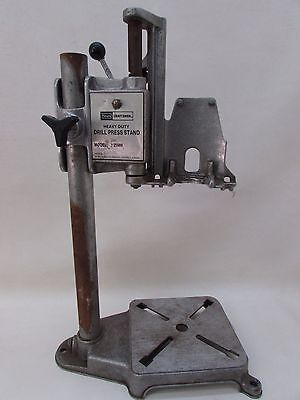 Vintage Craftsman Heavy Duty Drill Press Stand Aluminum Light Weight 9-25989