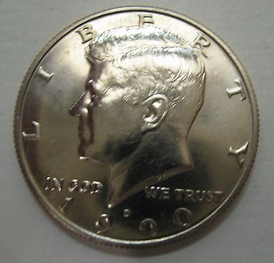 1990-D John F Kennedy Clad Half Dollar Choice BU Condition From Mint Set  DUTCH
