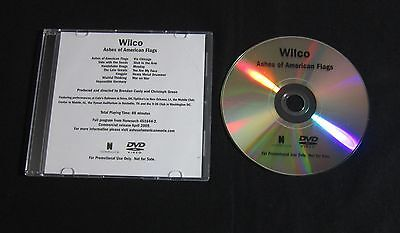 Wilco 'Ashes Of American Flags' 2009 Advance Dvd