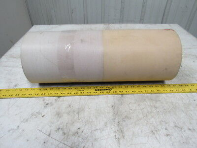 "3-Ply White Rubber Smooth Top Conveyor Belt 24' X 25-5/8"" X 0.125"""