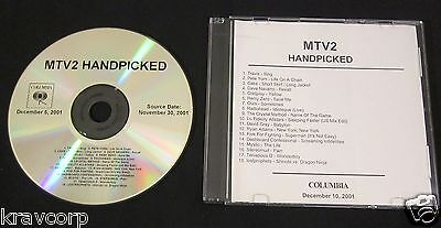Radiohead/coldplay/cake 'Mtv2 Handpicked' 2001 Advance Cd
