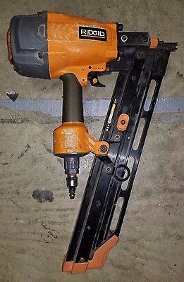 "Ridgid R350RHA Round Head 22° Framing Nailer 2""-3.5"" Used Tested and Working"