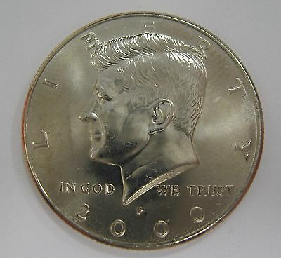 2000-P John F Kennedy Clad Half Dollar Choice BU Condition From Mint Set  DUTCH