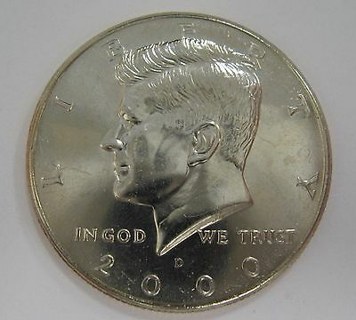 2000-D John F Kennedy Clad Half Dollar Choice BU Condition From Mint Set  DUTCH