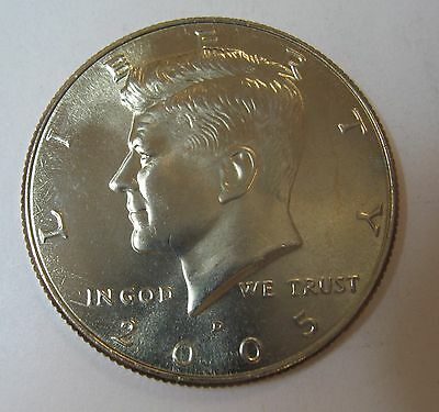 2005-D John F Kennedy Clad Half Dollar Choice BU Condition From Mint Set  DUTCH
