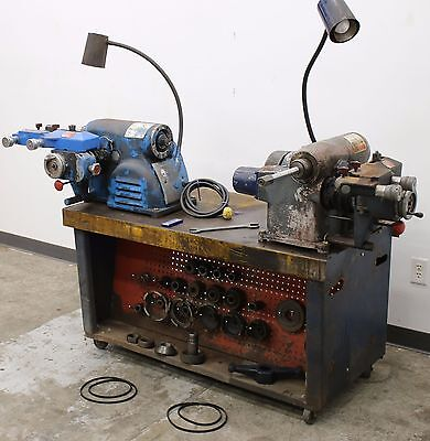 Used Ammco Dual 7000 Hustler Rotor & Disc Brake Lathe Combo Service Center