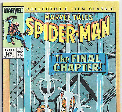 The AMAZING SPIDER-MAN #33 Reprint in Marvel Tales #172 from Feb. 1985 in VG+