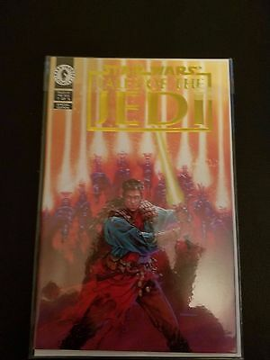 Star Wars Tales of the Jedi comic book Special Edition Gold Foil 1 of 5