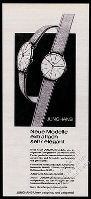 1963 Junghans watch photo German vintage print ad