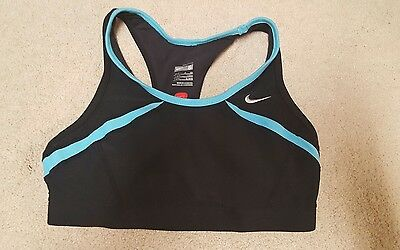Nike Fit Sports Bra Size S black
