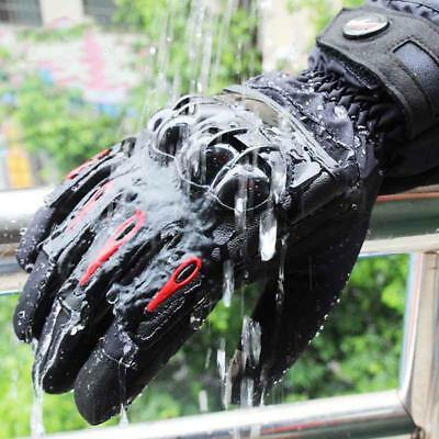Winter Waterproof Touch Screen Bicycle Motorcycle Riding Full Finger Warm Gloves