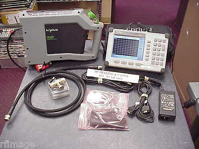 Anritsu S331D Sitemaster 4Ghz With Option-3 Color Display