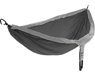 Eagles Nest Outfitters ENO DoubleNest Hammock Charcoal/Grey