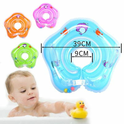 Infantable Kids Baby Swimming Neck Float Ring Safety Aid Toy Bath+Inflatable cup