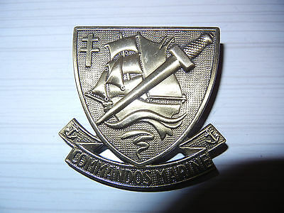 MARINE     COS      COMMANDOS  MARINE     badge  de  béret      Drago    (  2  )