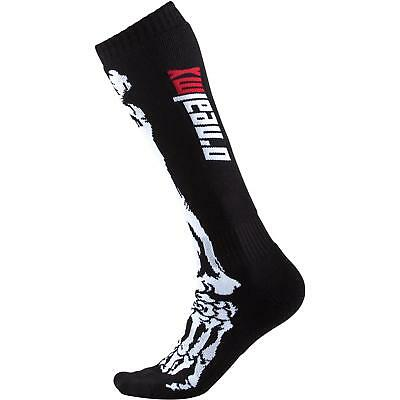 O'Neal Pro Kinder MX Socken XRay Skull Bones Moto Cross Mountain Bike Enduro MTB