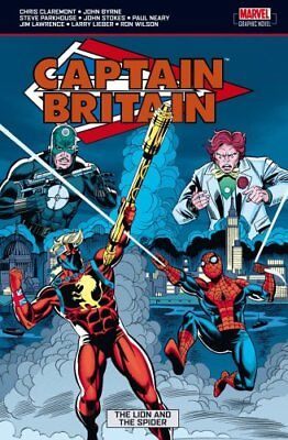 Captain Britain Vol.3: The Lion and the Spider,PB,Brian K. Vaughan - NEW