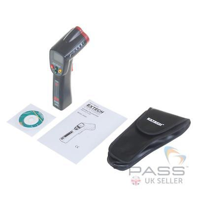 *NEW* Extech 42529 Wide Range IR Thermometer with Carry Case (-20 to 320°C) / UK