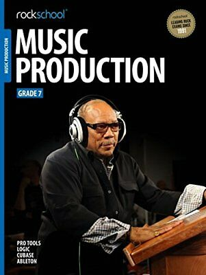 Rockschool Music Production 2016 - Grade 7,PB,Rockschool Ltd. - NEW