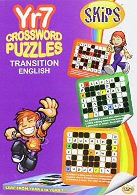 Skips Crossword Puzzles Yr 7 Trans Engli,PB,Ash Sharma - NEW