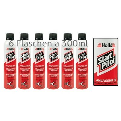HOLTS Start Pilot 6x300ml - Starthilfespray - Kaltstartspray 101130