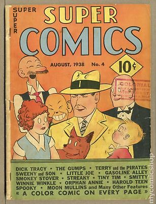 Super Comics (1938) #4 GD- 1.8