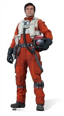 Pappaufsteller (Stand Up) Star Wars Episode VII Poe Dameron (181 cm)
