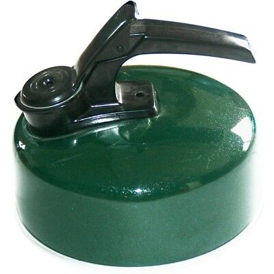 Royal 020152 Whistling Kettle 1.2L Aluminium Green Push Button Opening Camping