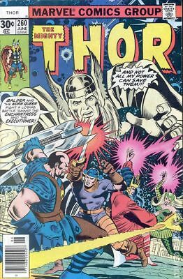 Thor (1962-1996 1st Series Journey Into Mystery) #260 VG/FN 5.0 LOW GRADE
