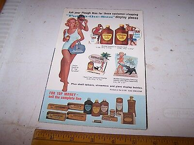 Vintage COPPERTONE Suntan Lotion DEALER Sales Brochure - 1969 we think
