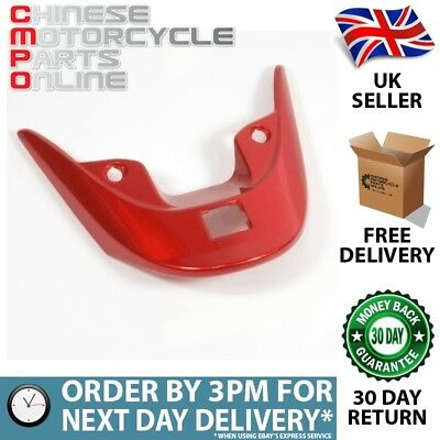 Metallic Red Pillion Handle/Luggage Rack Fairing Cover (PHFC002)