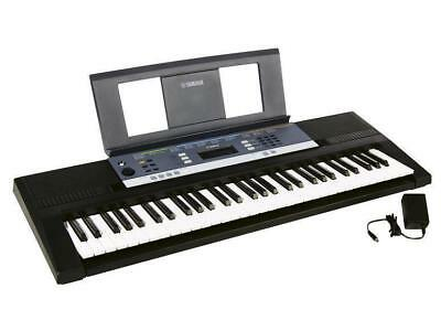 yamaha keyboard ypt 240 mit notenpult netzteil. Black Bedroom Furniture Sets. Home Design Ideas