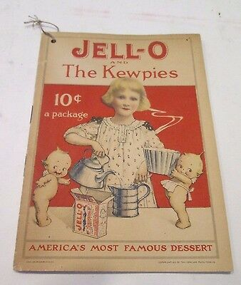 1915 Jell-O and The Kewpies Rare Recipe Booklet