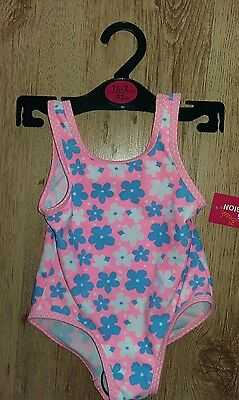 Girls Early Days Primark swimming costume swimsuit BNWT 1.5 - 2 years 18-24mths
