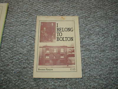 I Belong to Bolton by Norman Kenyon
