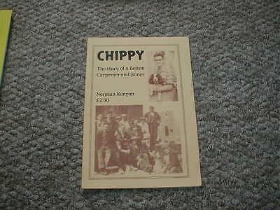 Chippy - The story of a Bolton Carpenter & Joiner by Norman Kenyon