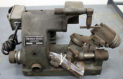 Friedrich Deckel SO Industrial Precision Tool / Engraver/ Mill / Cutter Grinder