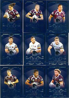 2017 ESP NRL ELITE Common team set - Brisbane Broncos