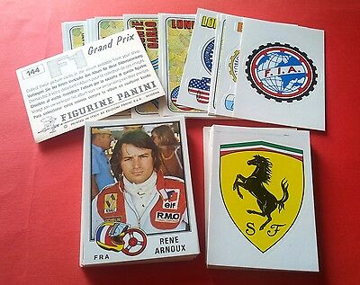 PANINI F.1 GRAND PRIX 1980 - choose your stickers 1/144 - NEW WITH BACK [MAX]