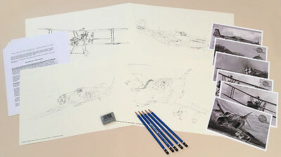 The Aircraft Drawing Kit - Create Your Own Aviation Art Drawings!